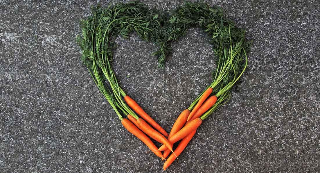 Φεβρουάριος ο μήνας του έρωτα αλλά και του… καρότου