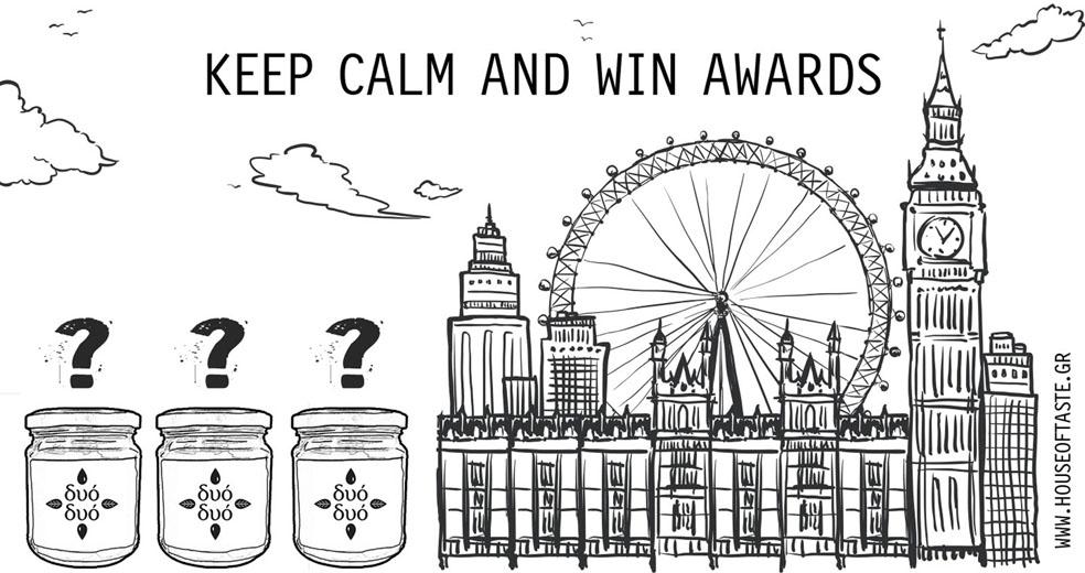 Keep calm and win awards