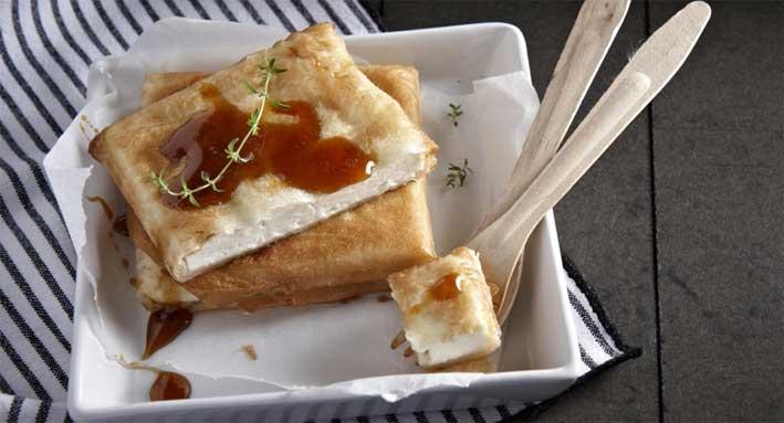 Μαλακό τυρί Μαστέλο® σε φύλλο κρούστας !